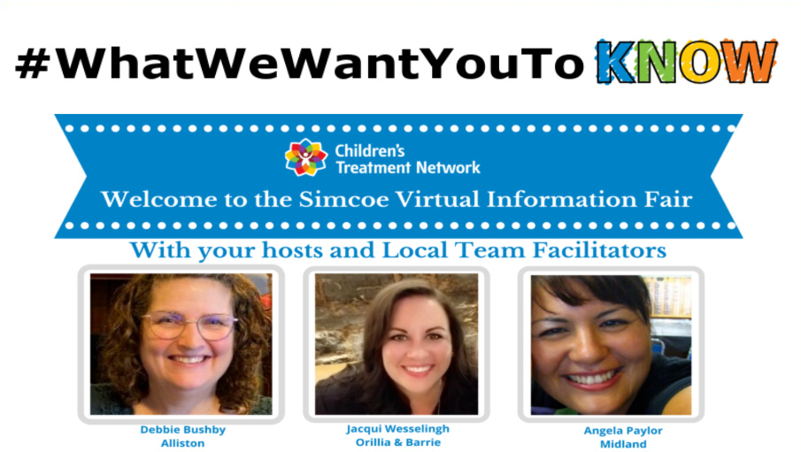 CTN's Virtual Information Fair - #WhatWeWantYouToKnow