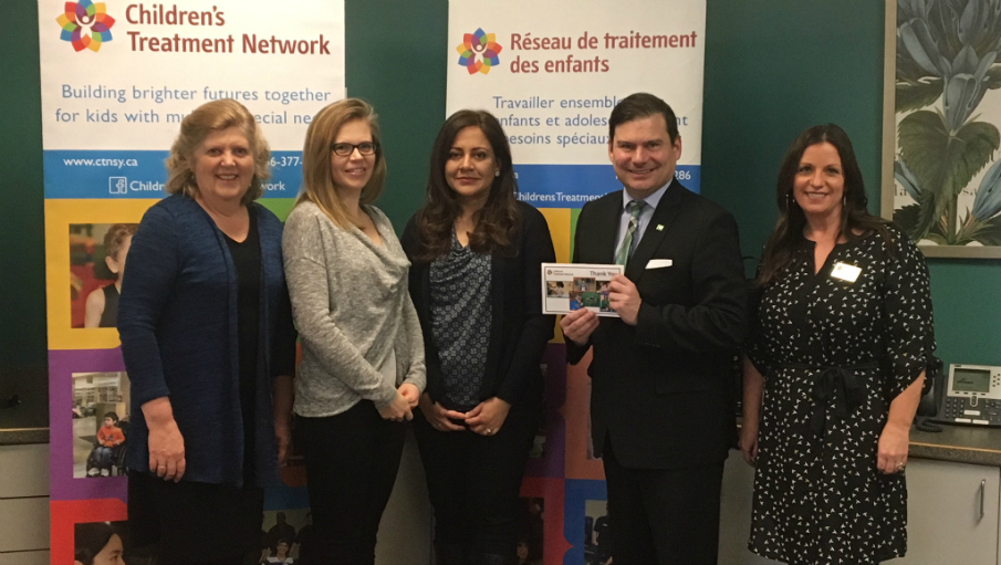 TD Bank Group has made a generous donation of $10,000 to CTN's Family Resource Program