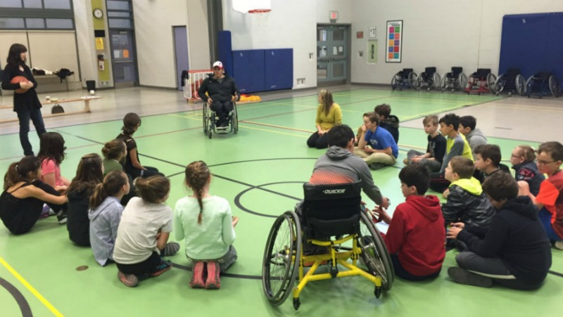 Wheelchair Basketball Pilot Program Success in Simcoe
