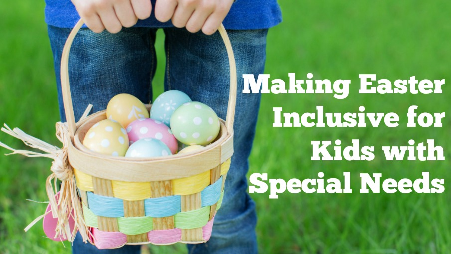 Inclusive Easter: 20 Non-edible Treat Ideas and Tips for an Egg Hunt for Kids with Disabilities