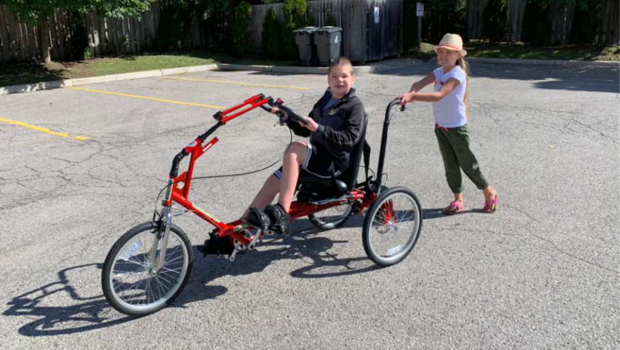 Adapted Bikes - Game Changer for Kids with Disabilities