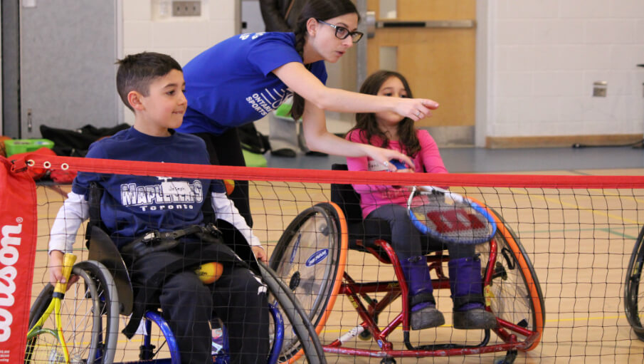 "Wheelchair Sports ""Have a Go"" Day was a huge success!"