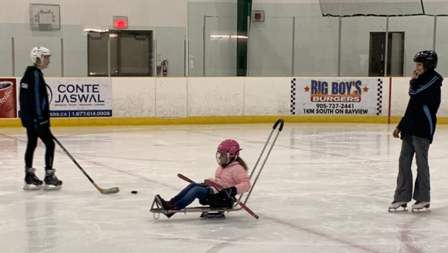 Stay Active - Try Sledge Hockey or Adapted Skating this Winter