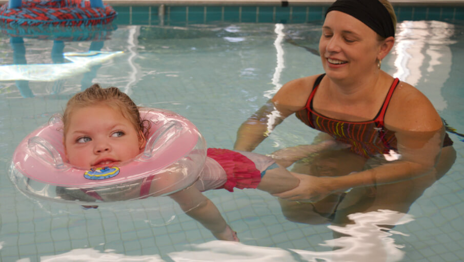 Hydrotherapy: Fun in the Pool to Meet Goals