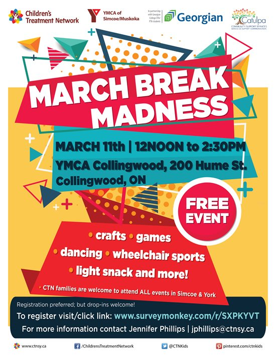CTN March Break Madness Event- Collingwood