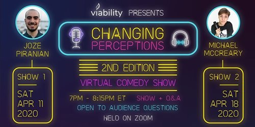 Changing Perceptions - Virtual Comedy Show